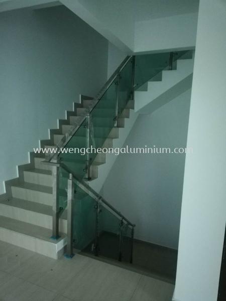 Staircase Glass Railing Selangor, Malaysia, Kuala Lumpur (KL), Sungai Buloh Supplier, Suppliers, Supply, Supplies   Weng Cheong Glass Trading Sdn Bhd