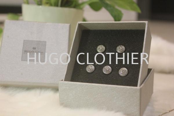 Silver Round Classic Button Buttons Kuala Lumpur (KL), Malaysia, Selangor, Wangsa Maju Supplier, Suppliers, Supply, Supplies | HUGOclothier