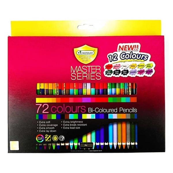MASTER SERIES BI-COLOURED PENCILS 72 COLOURS Color Pencils Art Supplies Stationery & Craft Johor Bahru (JB), Malaysia Supplier, Suppliers, Supply, Supplies | Edustream Sdn Bhd