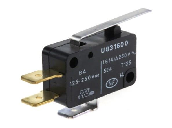 83160067 - SPDT Lever Microswitch, 16 A @ 250 V ac 219-3744