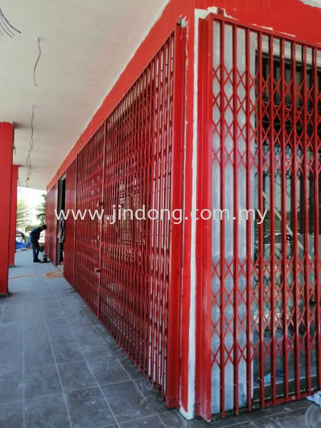Mould Steel Collapsible Door ╪Т╣╤це Johor Bahru (JB), Malaysia, Ulu Tiram Supplier, Suppliers, Supply, Supplies | Jin Dong Invisible Grille & Jin Dong Steel Works (M) Sdn Bhd