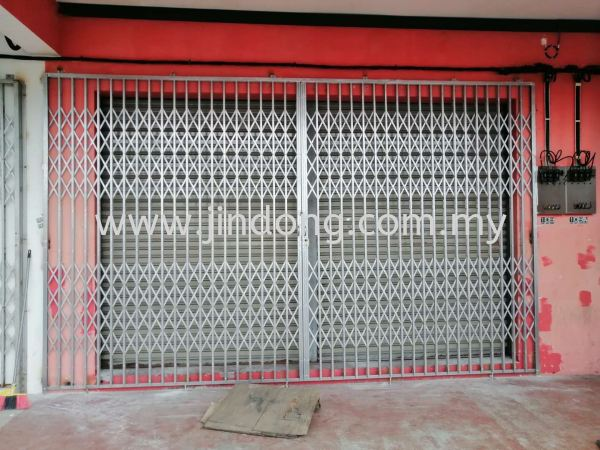 Collapsible Door ╪Т╣╤це Johor Bahru (JB), Malaysia, Ulu Tiram Supplier, Suppliers, Supply, Supplies   Jin Dong Invisible Grille & Jin Dong Steel Works (M) Sdn Bhd