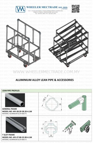 Aluminium Pipe & Joint Malaysia, Johor Bahru (JB), Ulu Tiram Manufacturer, Supplier, Supply, Supplies | Wheeler Mectrade Sdn Bhd