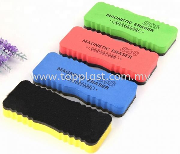 WhiteBoard Duster (Magnetic) Black/Green/White Board Penang, Malaysia Supplier, Suppliers, Supply, Supplies | Top Plast Enterprise