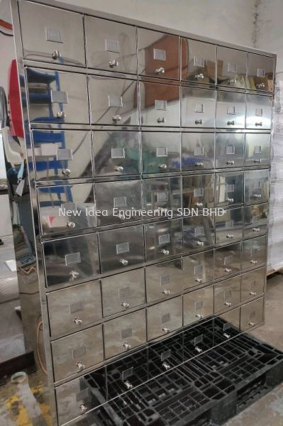 Stainless steel 304 BA shoe cabinet Clean Room Furniture Penang, Malaysia, Bukit Mertajam Supplier, Suppliers, Supply, Supplies | New Idea Engineering Sdn Bhd