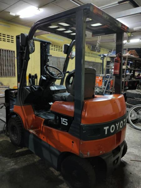 Ex Stock HN Reconditioned Toyota Battery Forklif  Others Klang, Selangor, Malaysia, Kuala Lumpur (KL) Supplier, Importer, Supply, Supplies | H & N Industry Supply & Services