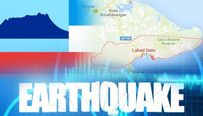 Weak earthquake hits Lahad Datu