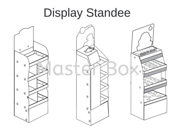 Display Standee Display Standee Malaysia, Selangor, Kuala Lumpur (KL), Balakong Manufacturer, Supplier, Supply, Supplies | Master Box Manufacturing Sdn Bhd