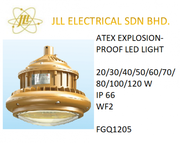 EXPLOSION PROOF ATEX LED LIGHT 20/30/40/50/60/70/80/100/120W FGA1205. OFF SHORE LED LIGHT