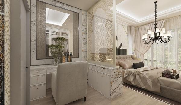 Master Bedroom - Vanity Mirror Alamsari - Type J Interior Design Interior Design Selangor, Balakong, Kuala Lumpur (KL) Contractor | Complex Creative Sdn Bhd