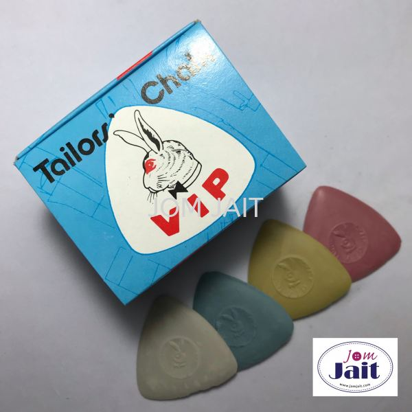 Tailor Chalk VIP Mix Colour 12 Pcs In Box Code£ºTCV12MB Tailor Chalk Malaysia, Kedah, Alor Setar Supplier, Wholesaler, Supply, Supplies | Syarikat Sin Joo Hin