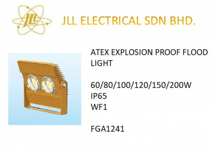 EXPLOSION PROOF ATEX LED LIGHT 60/80/100/120/150/200W FGA1241 LED FLOODLIGHT