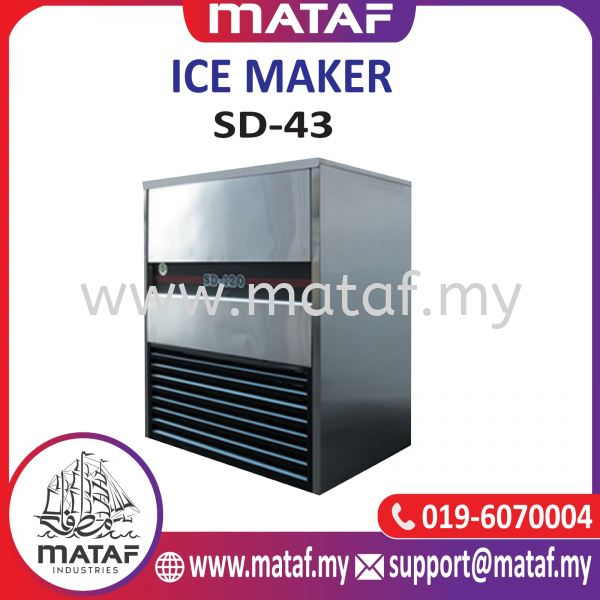 Ice Cube Maker 48-55kg/day (SD-43) COOLING & ICE MAKING MACHINE Seremban, Malaysia, Negeri Sembilan Supplier, Suppliers, Supply, Supplies   Mataf Industries
