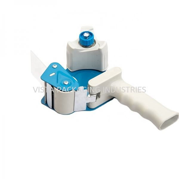 TAPE DISPENSER WITH HANDLE OFFICE SUPPLIES & PACKAGING INDUSTRIAL PACKING MATERIAL Selangor, Klang, Malaysia, Kuala Lumpur (KL) Supplier, Suppliers, Supply, Supplies   VISTA PACKAGING INDUSTRIES (M) SDN. BHD.