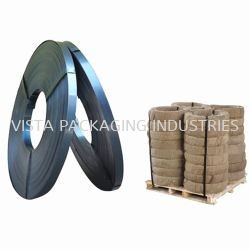 BLUE TEMPERED WAX COATED STRAPPING BAND