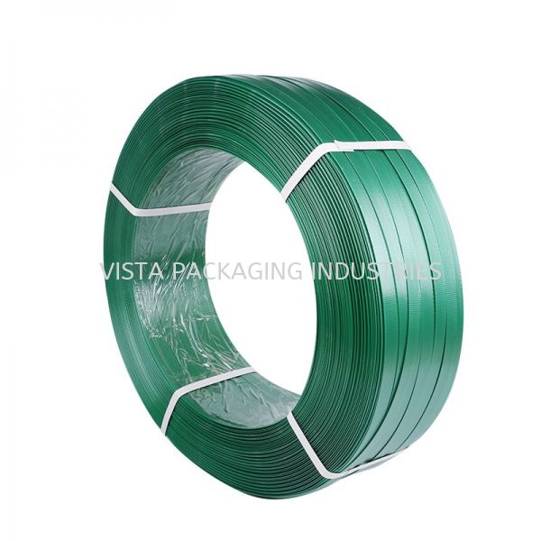 POLYESTER STRAPPING BAND STRAPPING BAND INDUSTRIAL PACKING MATERIAL Selangor, Klang, Malaysia, Kuala Lumpur (KL) Supplier, Suppliers, Supply, Supplies | VISTA PACKAGING INDUSTRIES (M) SDN. BHD.