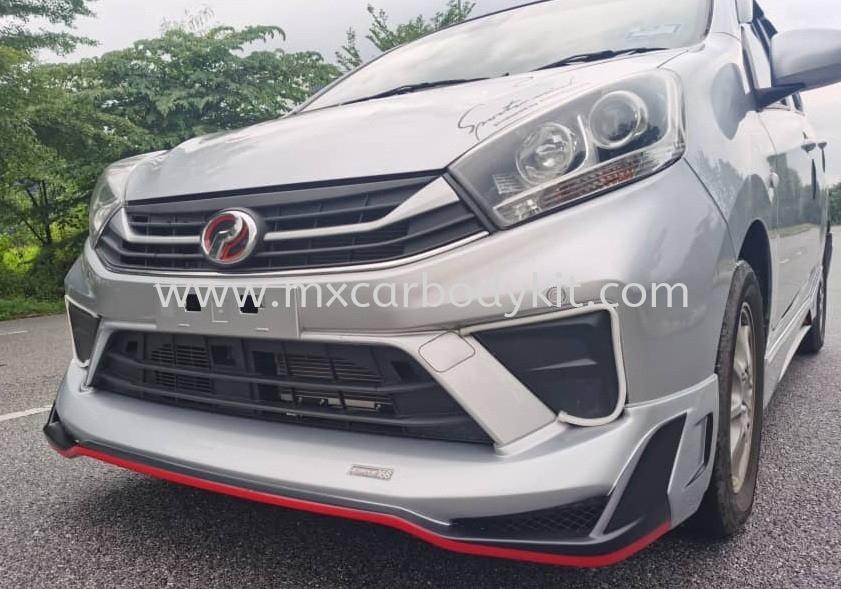 PRODUA AXIA FACELIFT D68 V2 BODYKIT + SPOILER AXIA FACELIFT PERODUA Johor, Malaysia, Johor Bahru (JB), Masai. Supplier, Suppliers, Supply, Supplies | MX Car Body Kit