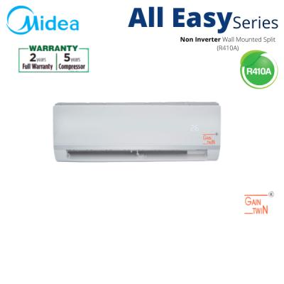 Midea 2.5hp R410A Wall Mounted Non Inverter MSAE-25CRN1