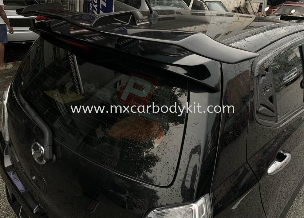 PERODUA AXIA KUHL RACING STYLE GT WING SPOILER  KUHL RACING GT WING SPOILER UNIVERSAL  Johor, Malaysia, Johor Bahru (JB), Masai. Supplier, Suppliers, Supply, Supplies | MX Car Body Kit