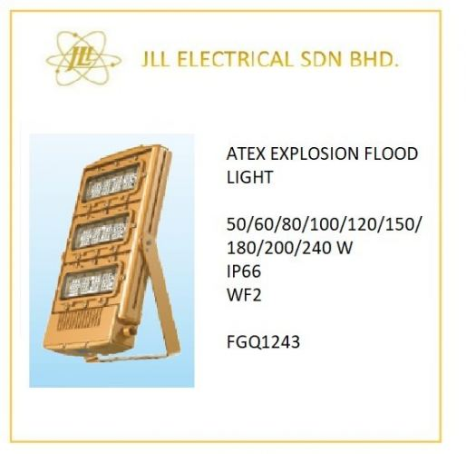 EXPLOSION PROOF ATEX LED  LIGHT 50/60/80/100/120/150/180/200/240W FGQ1243 FLOOD LIGHT