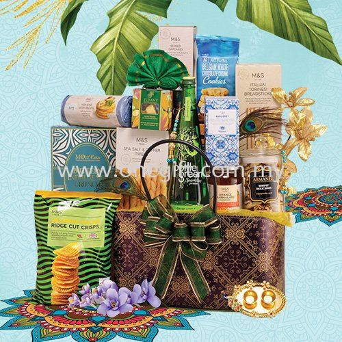 T08 Deepavali Hamper-Basket Deepavali Hamper Malaysia, Selangor, Kuala Lumpur (KL), Shah Alam Supplier, Suppliers, Supply, Supplies | The One Gift Gallery Sdn Bhd