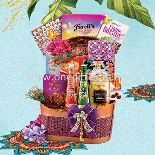 T06 Deepavali Hamper-Basket Deepavali Hamper Malaysia, Selangor, Kuala Lumpur (KL), Shah Alam Supplier, Suppliers, Supply, Supplies | The One Gift Gallery Sdn Bhd