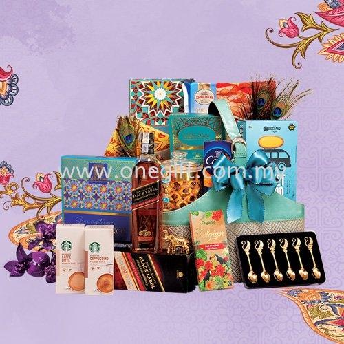 T01 Deepavali Hamper-Basket Deepavali Hamper Malaysia, Selangor, Kuala Lumpur (KL), Shah Alam Supplier, Suppliers, Supply, Supplies | The One Gift Gallery Sdn Bhd