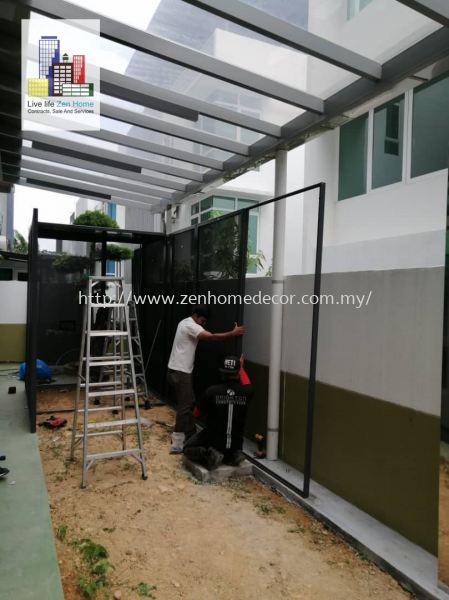 Tan Sri's House.Green House. Stainless Steel Netting Mosquito Netting Selangor, Malaysia, Kuala Lumpur (KL), Puchong, Shah Alam Supplier, Suppliers, Supply, Supplies | Zen Home Decor