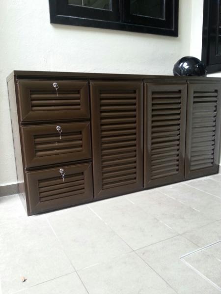 Shoe Cabinet Aluminium Cabinet / Wardrobe Kuala Lumpur (KL), Malaysia, Selangor, Setapak Supplier, Suppliers, Supply, Supplies | Sin Ban Lee Enterprise