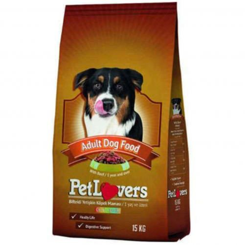 ADULT DOG FOOD WITH BEEF