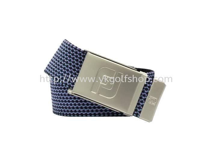 Webbing Belt NEW #69243 Navy / Lavender / Emerald