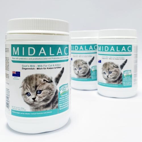 MIDALAC GOAT'S MILK - MILK FOR CAT & KITTEN