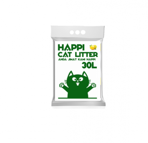 HAPPI CAT LITTER 30L
