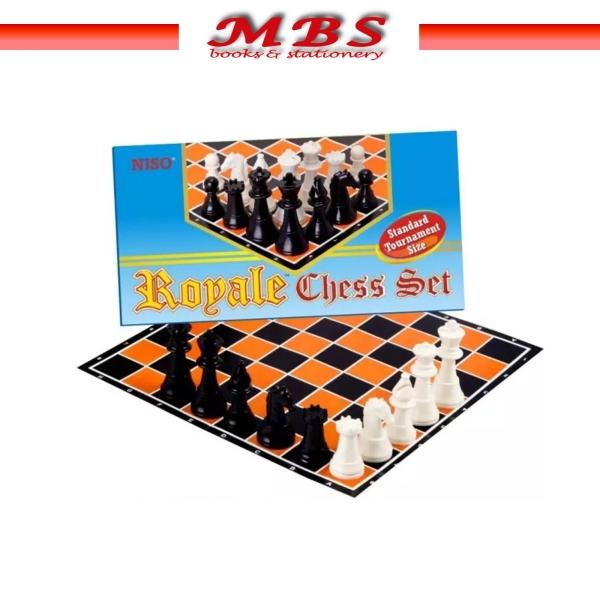CHESS SET NISO ROYAL BOARD GAMES CS-88 Boardgames Games Pahang, Malaysia, Terengganu, Kuantan, Mentakab, Pekan Supplier, Suppliers, Supply, Supplies   MBS BOOKS & STATIONERY