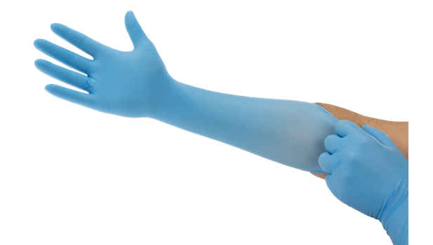 ANSELL MICROFLEX® 93-243 Extra-long disposable gloves