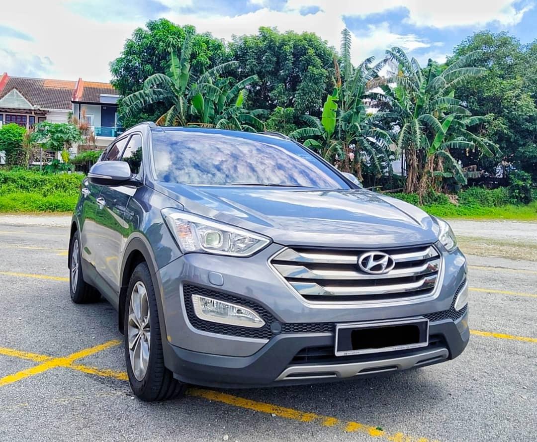 2015 Hyundai Santafe 2 4 Petrol Santafe Hyundai Johor Bahru Jb Malaysia Skudai Dealer Supplier Supply Supplies