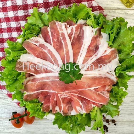 涮涮肉 (花肉)  定制裁切/准备裁切 所有猪肉部位   Supplier, Wholesaler, Supply, Supplies | Hee Keong Enterprise Sdn Bhd
