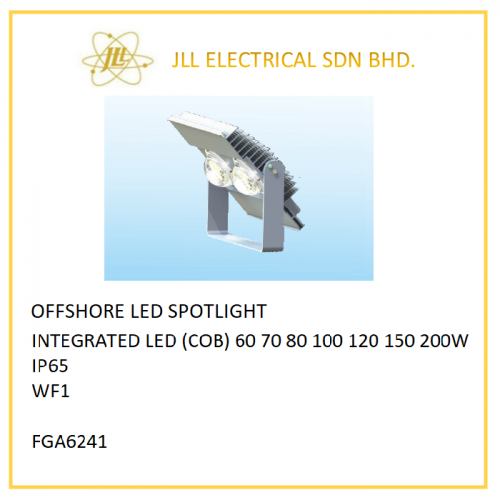 OFFSHORE LED SPOTLIGHT LED 60/70/80/100/120/150/200W. FGA6241 LED FLOODLIGHT