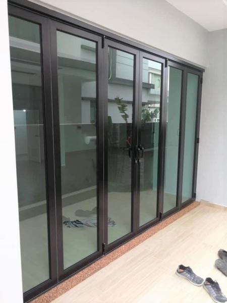 Aluminium Bi-Fold Door Door Kuala Lumpur (KL), Malaysia, Selangor, Setapak Supplier, Suppliers, Supply, Supplies | Sin Ban Lee Enterprise
