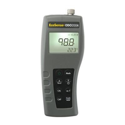 YSI EcoSense ODO200M Optical Dissolved Oxygen and Temperature Meter with Extended Memory