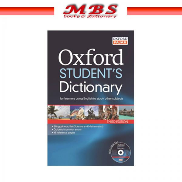OXFORD Student's Dictionary of English 3E + CDROM Dictionary Books Pahang, Malaysia, Terengganu, Kuantan, Mentakab, Pekan Supplier, Suppliers, Supply, Supplies   MBS BOOKS & STATIONERY