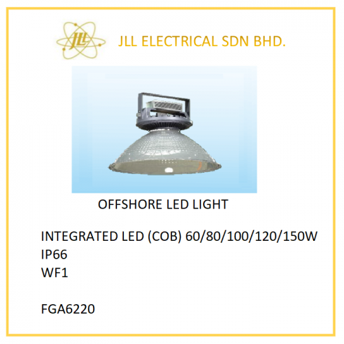 OFFSHORE LED FACTORY LIGHT 60/80/100/120/150W. OFFSHORE FACTORY LIGHT