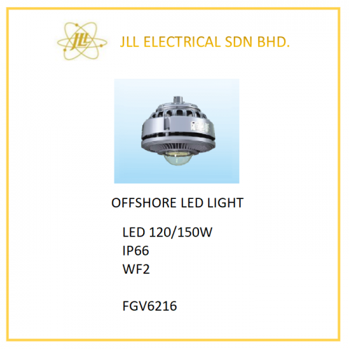OFFSHORE LED LIGHT 120/150W FGV6216. OFFSHORE PROFICIENT LED LIGHT