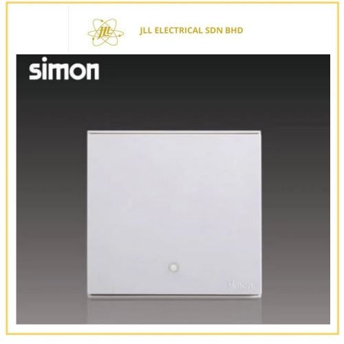 Simon Switch E6  72202420A 1 Gang 2 Way Double Pole With Blue LED Indicator (Water Heater,Air-Cond) White