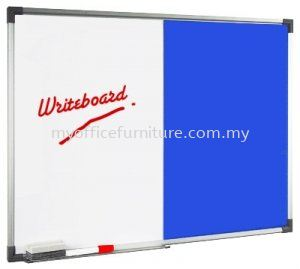 DUAL BOARD W/O STAND ~MAGNETIC WHITEBOARD AND FOAM BOARD (RM 48.00/UNIT) WHITEBOARD WHITE BOARD Selangor, Malaysia, Kuala Lumpur (KL), Klang Supplier, Suppliers, Supply, Supplies | myofficefurniture.com.my