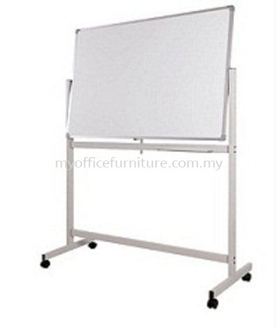 DOUBLE SIDED MAGNETIC WHITEBOARD WITH MOBILE STAND (RM 264.00/UNIT) WHITEBOARD WHITE BOARD Selangor, Malaysia, Kuala Lumpur (KL), Klang Supplier, Suppliers, Supply, Supplies | myofficefurniture.com.my