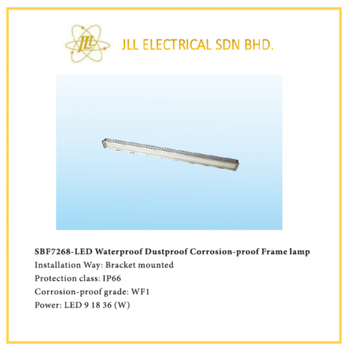 OFFSHORE LED FRAME LAMP 9/18/36W SBF7268, APPLICABLE OFFSHORE