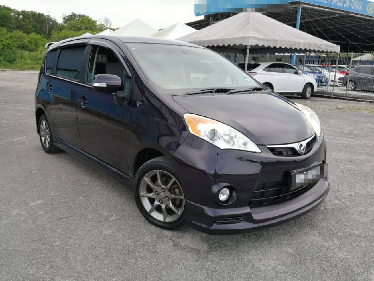 2012 Perodua ALZA 1.5 (A) Full loan