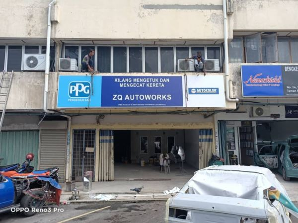 Project PPG Signage Signage Seremban, Nilai, Malaysia, Negeri Sembilan Manufacturer, Supplier, Supply, Supplies | A Class Neon Sign Sdn Bhd