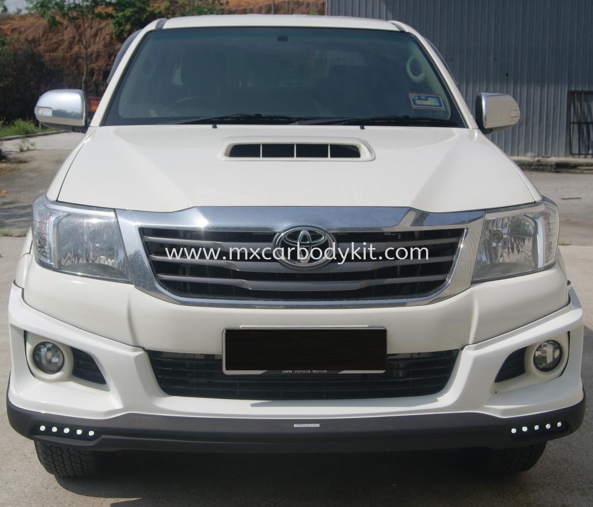 TOYOTA HILUX VIGO SPORTIVO BODYKIT + SPOILER HILUX 2011 - 2015  TOYOTA Johor, Malaysia, Johor Bahru (JB), Masai. Supplier, Suppliers, Supply, Supplies | MX Car Body Kit